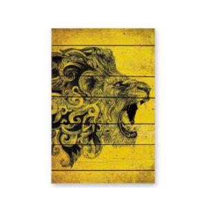 cuadro-decoracion-madera-rugido-leon