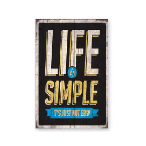 cuadro-decoracion-madera-la-vida-es-simple