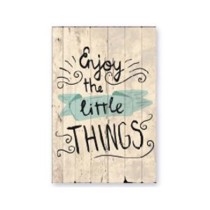 cuadro-decoracion-madera-enjoy-the-little-things