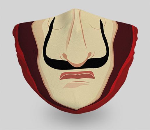 mascarillas-diseños-originales-peliculas-series-la-casa-de-papel
